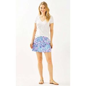 {LILLY PULITZER} NWT MICHELE TOP IN RESORT WHITE
